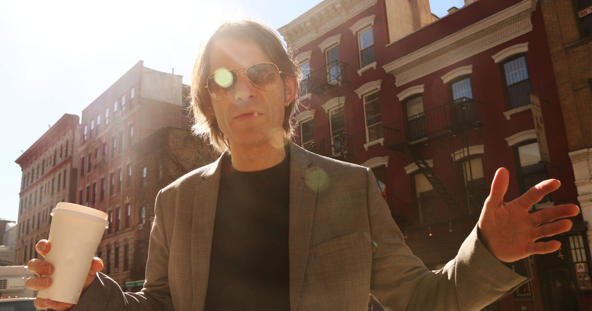 Thor Madsen - guitarist, producer and composer. Photo from Avenue C in New York by Sarit Dhabani.