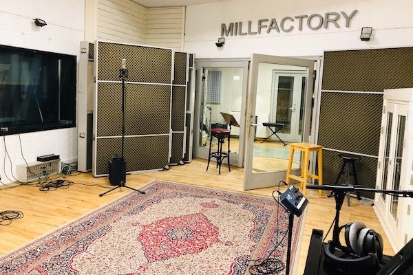 Big recording room at Mazza Mansion/MillFactory