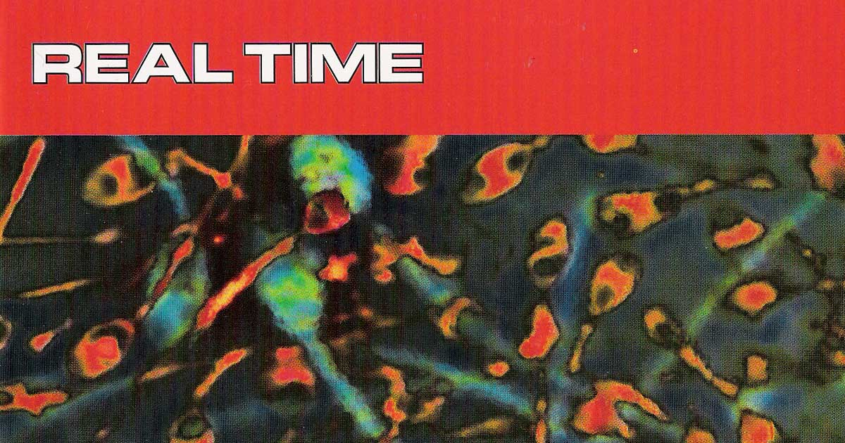 Excerpt of the Real Time CD cover. Artwork by Enrico Andreis.
