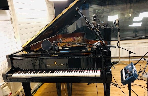 Steinway D Grand Piano at MillFactory Studios