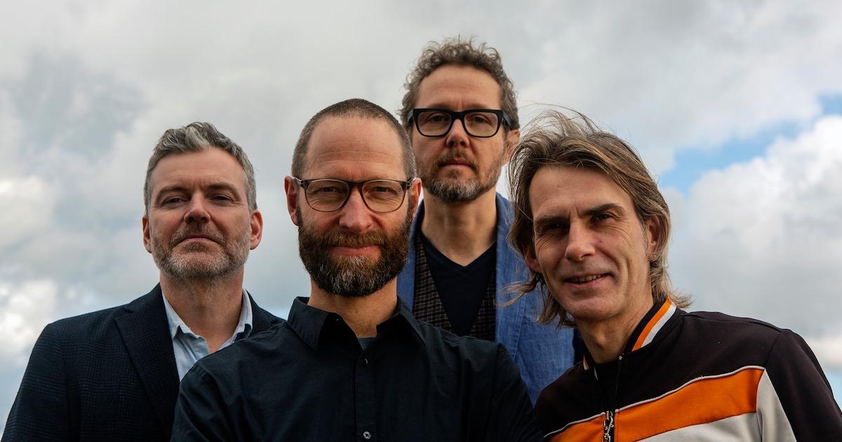 The Song Remains. Karsten Bagge, Claus Waidtløw, Jesper Bodilsen, Thor Madsen. Photo by Ivar Lind Greiner.